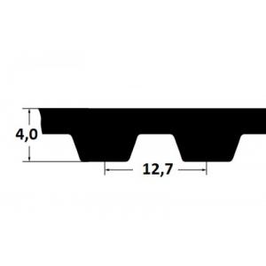 Timing belt ZR 570H100 25,4mm