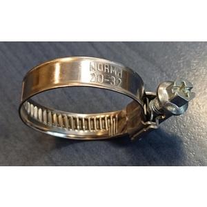 Hose clamp 16-27/9 W2 Norma