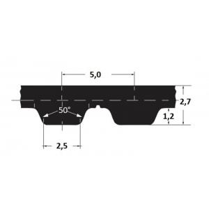 Hammasrihm Alpha AT5/390 25mm