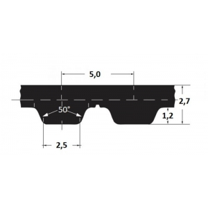 Hammasrihm Alpha AT5/390 16mm