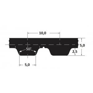 Hammasrihm  Alpha AT10/660 20mm