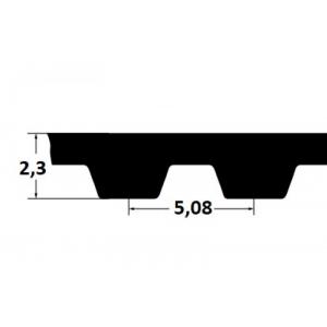 Timing belt ZR 160XL037 9,53mm