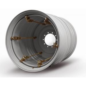 Dual wheel 15x28/285 3-kinnitust valge AP+
