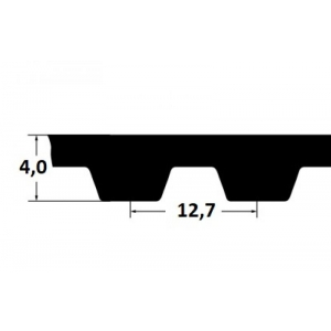 Timing belt ZR 390H100 25,4mm