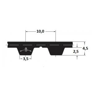 Hammasrihm Alpha linear 32 T10-St