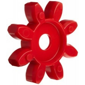 Elastne element GET 28-38 98ShA T-Pur lilla/punane