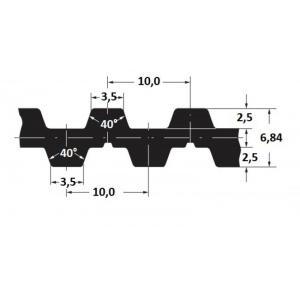 Hammasrihm Alpha D DT10/1400 16mm