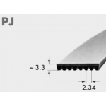 Ribbed belt RB PJ 414