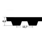 Hammasrihm ZR 390H075 19,05mm
