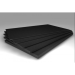 Rubber sheet #40mm NBR 65Sh