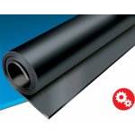 Rubber sheet #4mm x1 SBR 65Sh