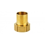 Screw hose coupling 38mm F-G1 1/2-Br for RK