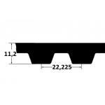 Hammasrihm ZR 1260XH500 127mm