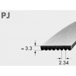 Ribbed belt RB PJ 2489