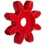 Elastne element GET 42-55 98ShA T-Pur lilla/punane