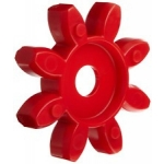 Elastne element GET 90-100 98ShA T-Pur lilla/punane