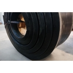 Wear resistant rubber #40x400mm STM 65Sh