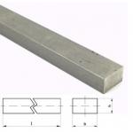 Key steel 6*6*1000mm DIN 6880 C45