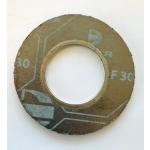 "Flat gasket 1"" 300lbs with inner eyelet DIMEGRAF 30, dia73x33,3x2mm SS316Ti ASME B16.21"