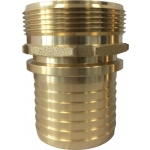 Screw hose coupling 1 1/4 with nuts 1 1/4 bsp for safety clamps