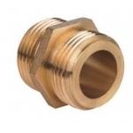 Nippel 50-25mm (2-1) M-M, Messing